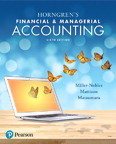 Horngren's Financial & Managerial Accounting, 6/e [book cover]