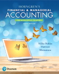 Horngren's Financial & Managerial Accounting, The Managerial Chapters, 6/e [book cover]