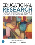 Educational Research: Planning, Conducting, and Evaluating Quantitative and Qualitative Research, 6/e [book cover]