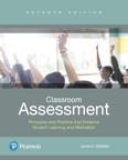 Classroom Assessment: Principles and Practice that Enhance Student Learning and Motivation., 7/e [book cover]