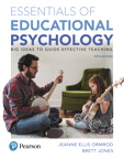Essentials of Educational Psychology: Big Ideas To Guide Effective Teaching, 5/e [book cover]