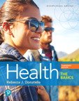 Health: The Basics, 13/e [book cover]