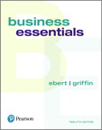 Business Essentials, 12/e [book cover]