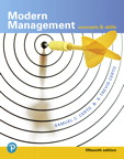 Modern Management: Concepts and Skills, 15/e [book cover]