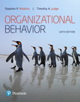 Organizational Behavior, 18/e [book cover]