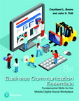 Business Communication Essentials, 8/e [book cover]