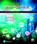 Operations Management: Processes and Supply Chains, 12/e [book cover]