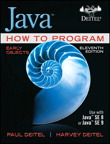Java How to Program, Early Objects, 11/e [book cover]