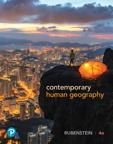 Contemporary Human Geography, 4/e [book cover]