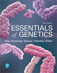 Essentials of Genetics, 10/e [book cover]