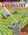 Chemistry: A Molecular Approach, 5/e [book cover]