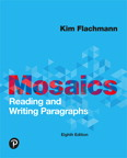 Mosaics: Reading and Writing Paragraphs, 8/e [book cover]