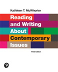 Reading and Writing About Contemporary Issues, 3/e [book cover]