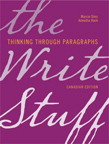 The Write Stuff: Thinking through Paragraphs, Canadian Edition [book cover]