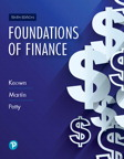 Foundations of Finance, 10/e [book cover]