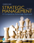 Strategic Management: A Competitive Advantage Approach, Concepts and Cases, 17/e [book cover]