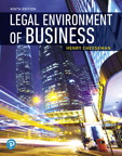 Legal Environment of Business [RENTAL EDITION], 9/e [book cover]