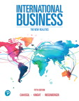 International Business: The New Realities, 5/e [book cover]