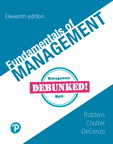 Fundamentals of Management [RENTAL EDITION], 11/e [book cover]