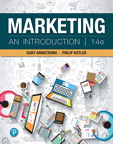 Marketing: An Introduction [RENTAL EDITION], 14/e [book cover]