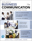 Excellence in Business Communication [RENTAL EDITION], 13/e [book cover]