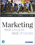 Marketing: Real People, Real Choices [RENTAL EDITION], 10/e [book cover]