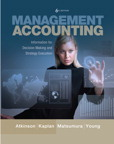 Management Accounting: Information for Decision-Making and Strategy Execution, 6/e [book cover]