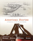 American Stories: A History of the United States, Volume 1, 2/e [book cover]
