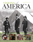 Visions of America: A History of the United States, Volume One, 2/e [book cover]