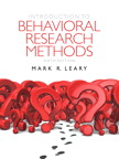 Introduction to Behavioral Research Methods, 6/e/e