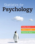 Statistics for Psychology, 6/e [book cover]
