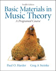 Basic Materials in Music Theory: A Programmed Approach, 12/e/e