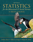 Statistics for The Behavioral and Social Sciences: A Brief Course, 5/e [book cover]
