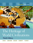 Heritage of World Civilizations, The: Volume 2, 9/e [book cover]
