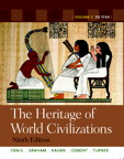 Heritage of World Civilizations, The: Volume 1, 9/e [book cover]