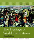 Heritage of World Civilizations, The: Combined Volume, 9/e [book cover]