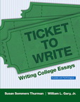 Ticket to Write: Writing College Essays, 1/e [book cover]