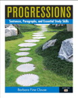 Progressions, Book 1: Sentences, Paragraphs and Essential Study Skills, 1/e [book cover]