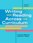 Writing and Reading Across the Curriculum, 12/e [book cover]