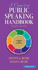 A Concise Public Speaking Handbook, 4/e/e