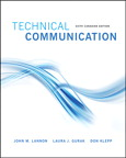 Technical Communications, Sixth Canadian Edition, 6/e [book cover]