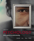 Psychology: From Inquiry to Understanding, 3/e [book cover]
