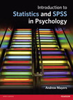 Introduction to Statistics and SPSS in Psychology, 1/e [book cover]