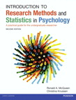 Introduction to Research Methods and Statistics in Psychology: A practical guide for the undergraduate researcher, 2/e [book cover]