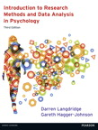 Introduction to Research Methods and Data Analysis in Psychology, 3/e [book cover]