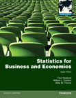 Statistics for Business and Economics: Global Edition, 8/e [book cover]