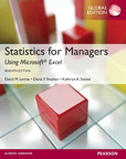 Statistics for Managers using MS Excel, Global Edition, 7/e [book cover]