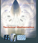 Introduction to Technical Mathematics, 5/e [book cover]