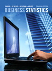Business Statistics, First Canadian Edition, 1/e [book cover]