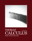 Thomas' Calculus Early Transcendentals, 12/e [book cover]